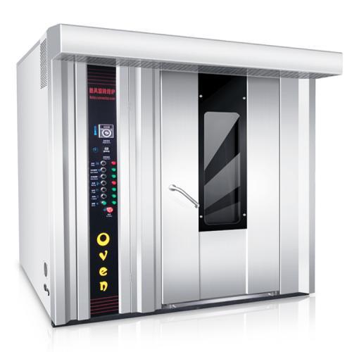 32盘电热热风旋转烤炉 大型月饼烤炉 控温控时商用烤箱烘焙热