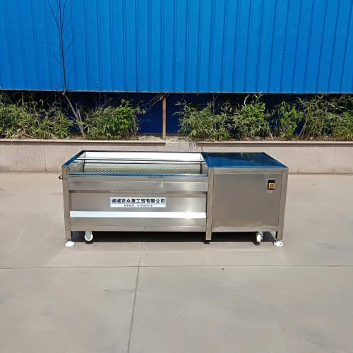 商用自動出料蘿卜清洗去泥機 不銹鋼清洗機