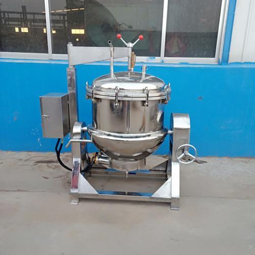 商用電加熱導熱油骨湯夾層鍋