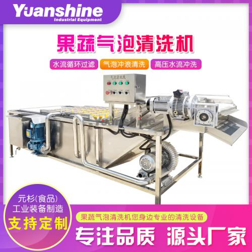 果蔬清洗机 辣椒蔬菜清洗机 草莓水果清洗机 水果蔬菜清洗机
