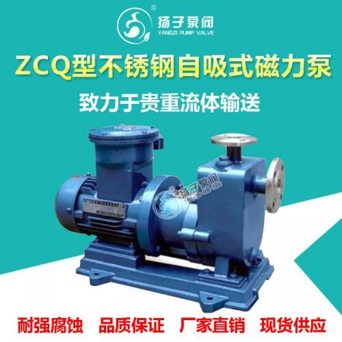 ZCQ不銹鋼自吸磁力泵甲醇泵堿液泵有機溶劑泵