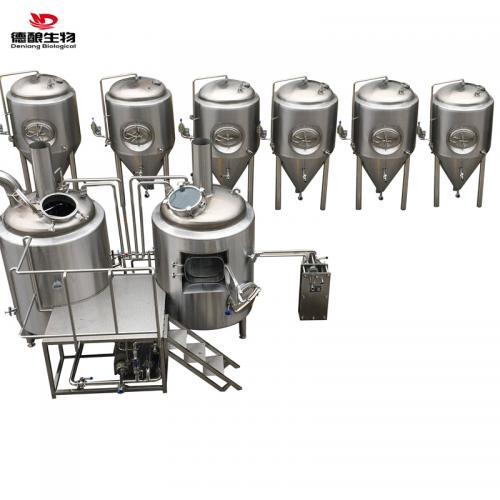 精酿自酿啤酒设备生产线