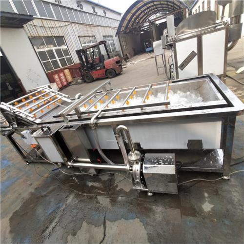 自动不锈钢洗菜机大型食堂专用气泡果蔬清洗机喷淋洗白菜黄瓜