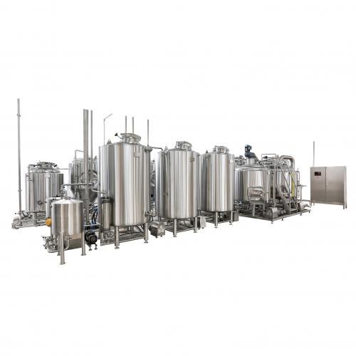 五器组啤酒糖化设备